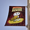 Flag advertising the SFZoo on Sloat Ave 10-25-10