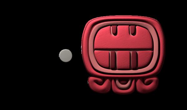 3D Mayan Glyph