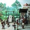 Diorama of Mayan life