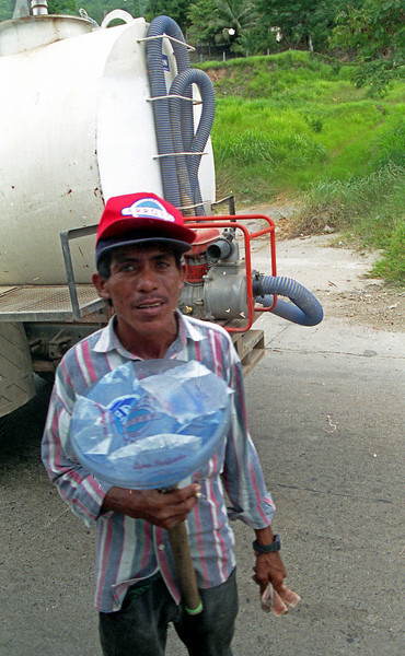 Street vendor in San Pedro Sula
