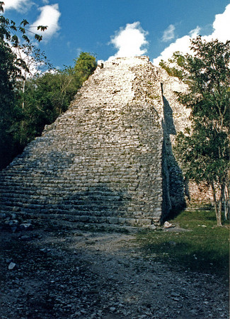 Merida, Coba, Tulum and Uxmal 1988