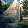 Tallest temple in Coba