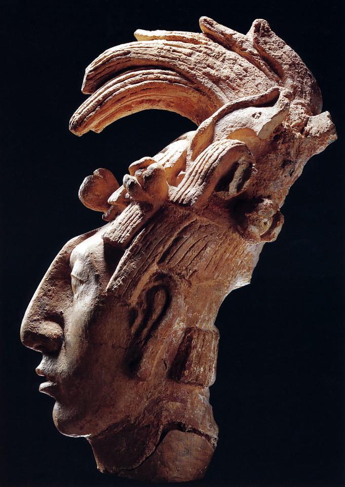 """K'inich Janaab' Pakal (March 603 – August 683)  <font size=""""1""""><font face=""""garamond"""">MAYA, Rizzoli 1998"""