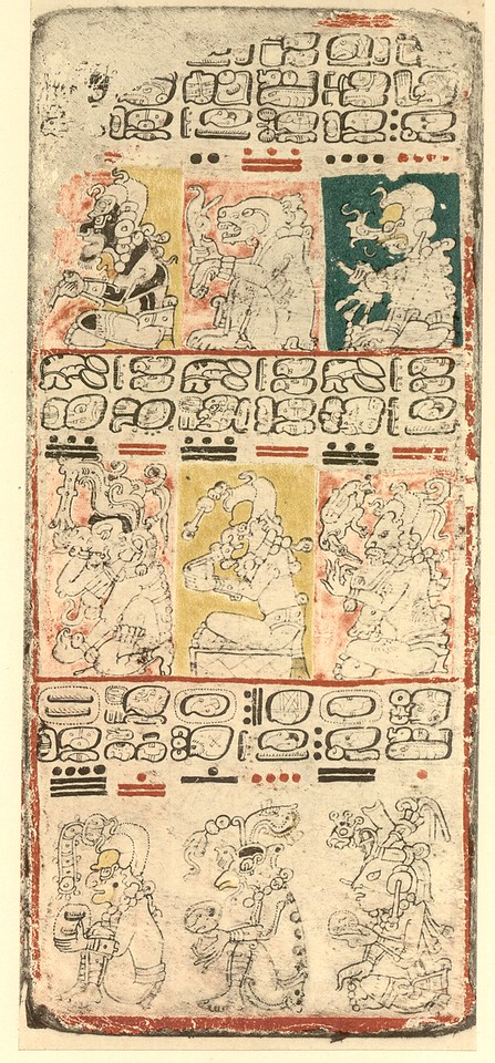 Examples from the Dresden Codex