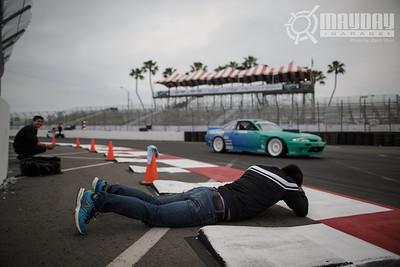 FormulaD Round 1 Long Beach 2013