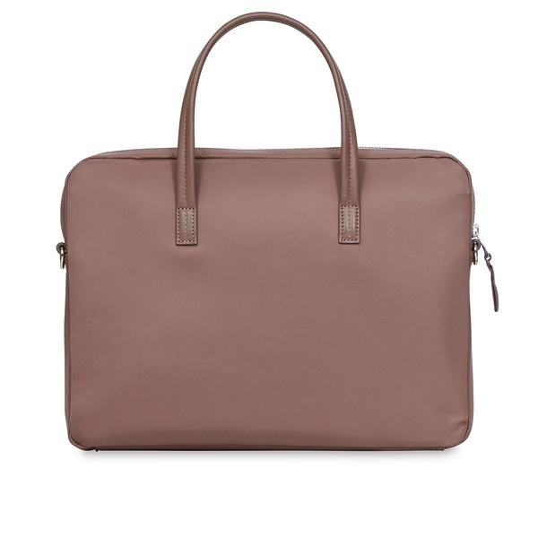 Mayfair;Hanover;Slim Briefcase;14'';119-101-FIG;Back