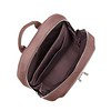 """AW18 Mayfair Beauchamp Backpack 14"""" 119-401-FIG Overhead Open Empty"""