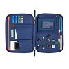 AW18 Knomad Tech Organiser 10.5 159-068-PIN Open with Items