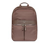 """AW18 Mayfair Beauchamp Backpack 14"""" 119-401-FIG Open with Items"""