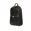 Black Leather Beaux 120-401-BLK