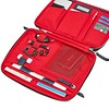 AW18 Knomad Tech Organiser 10.5 159-068-DNV Angle Open with Items