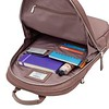 """AW18 Mayfair Mini Beaufort Backpack 12"""" 119-416-FIG2 Side Open with Items"""