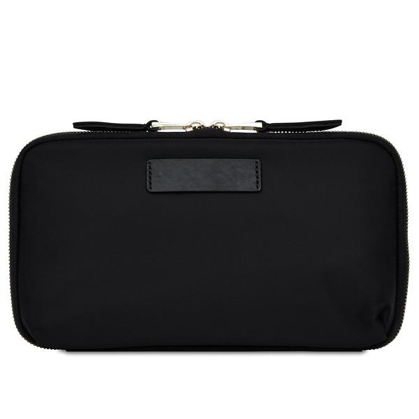 Knomo; Knomad; travel; wallet; 190-051-BLK; Black; threequater