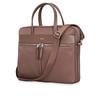 Mayfair;Hanover;Slim Briefcase;14'';119-101-FIG2;Three Quarter With Strap