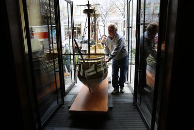 Moving the Boston Mayflower Inside