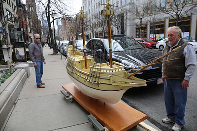 The Boston Mayflower Comes to Newbury Street