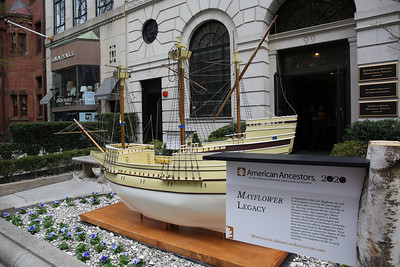 The Boston Mayflower on Newbury Street