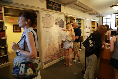 Origins and Legacy of the Mayflower Exhibit at New England Historic Genealogical Society