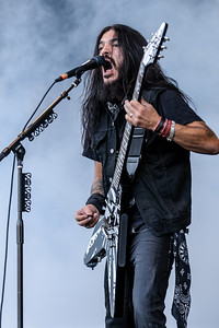 Machine Head performing at the Rockstar Energy Drink Mayhem Festival 2011