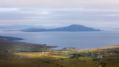 Dooega and Clare Island ( From Minaun )-1L8A1951