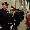 Members of the Fitchburg Fire Department during the Mayor's State of the City Address at Fitchburg High School on Wednesday, February 8, 2017. SENTINEL & ENTERPRISE / Ashley Green