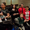Members of the DiNatale family during the Mayor's State of the City Address at Fitchburg High School on Wednesday, February 8, 2017. SENTINEL & ENTERPRISE / Ashley Green