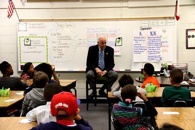 Mayor Green's Visit to Hastings Elementary