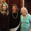 Lynn, Ma. 9-7-17. Thee generations. Mia Kennedy, Mayor Judith Flanagan Kennedy, and Rita Flanagan, Judy's Mom, at fundraiser at Porthole Restaurant.