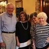 Lynn, Ma. 9-7-17. Jim Starratt, Mayor Judith Flanagan Kennedy, Debbie Starratt, and Delores Starratt at the fundraiser at the Porthole Restaurant.