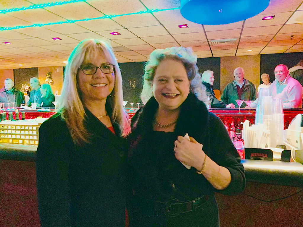 . Michelle Raymond and School Committee member and event organizer Connie Martin both of Lowell