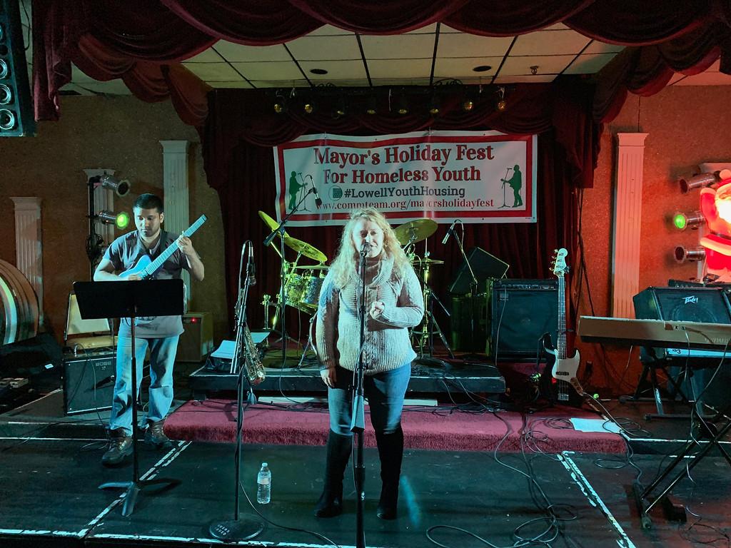 . Emily Desmond performs.