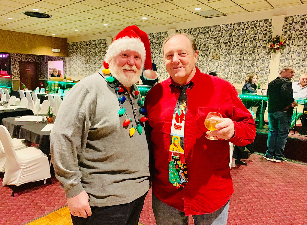. John Heslin of Woburn and entertainer Kevin Wall of Amesbury