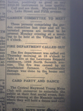 Over heated furnace 2/28/1919