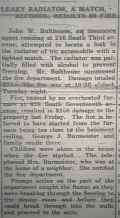 FIRE 1919