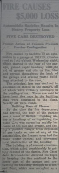 12/12/19 GARAGE FIRE