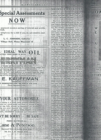 64 fires in 1923