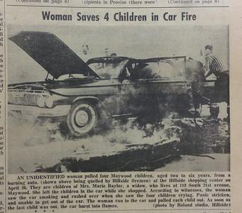 WOMAN SAVE CHILDREN