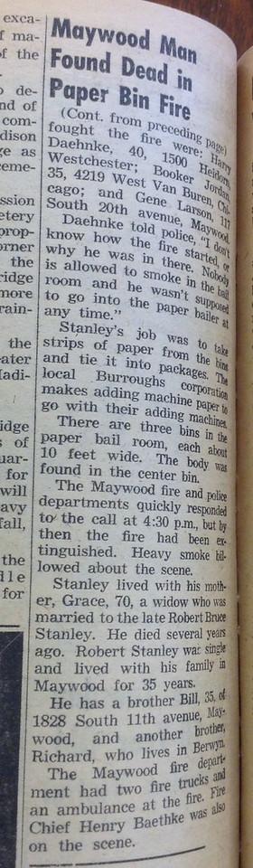 FIRE BIN DEATH PART 2