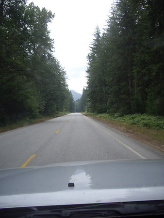 Just past Darrington.