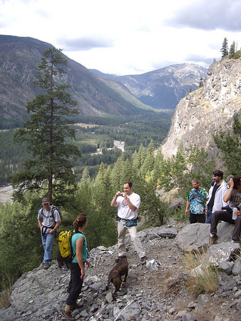 Everyone at the base of Prime Rib.