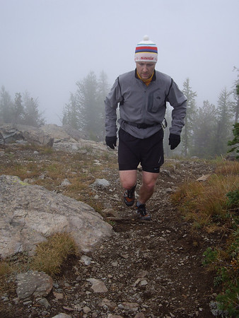 Thin air at 7000 feet + steep climb = redlined heart rate