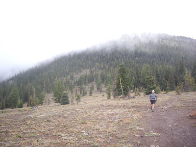 Coming back down.