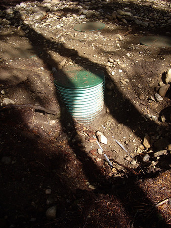 The pump component of the septic system.   Because of the soil type in the Lost River area, I had to get a pressurized system.