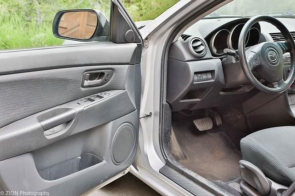 Drivers door open