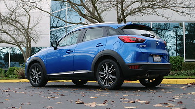 2017 Mazda CX-3 Grand Touring Parked Footage