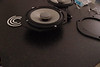 "Aftermarket speaker mounted to  speaker adaptor ring  from  <a href=""http://www.car-speaker-adapters.com/items.php?id=SAK006""> Car-Speaker-Adapters.com</a>"