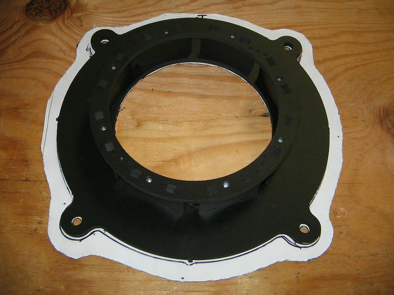 "<a href=""http://www.car-speaker-adapters.com/items.php?id=SAK102""> Speaker adapter</a>     and     <a href=""http://www.car-speaker-adapters.com/sounddeadener.php""> Fatmat sound deadener</a>   from Car-Speaker-Adapters.com"
