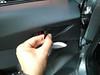 Removing door handle trim