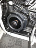 """Aftermarket speaker and  speaker adapter plate  from  <a href=""""http://www.car-speaker-adapters.com/items.php?id=SAK006""""> Car-Speaker-Adapters.com</a>   installed"""