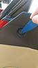 First pop center of push pin fastener